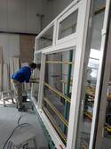Glasmontage bij Rosendaal SchilderGroep