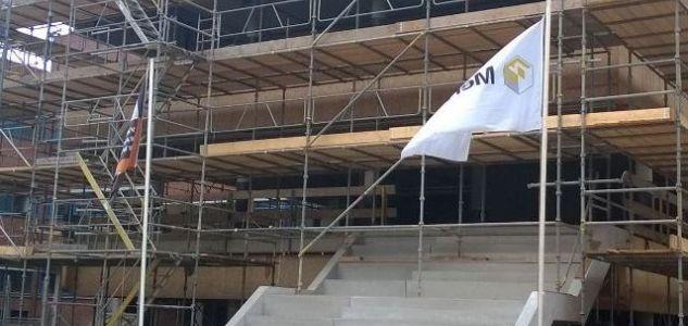 Nieuwbouw/verbouw NSG Groenewoud te Nijmegen