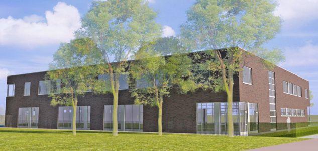 Nieuwbouw Praktijkcollege De Schakel te Haarlem