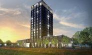 Nieuwbouw Van der Valk hotel te Lent